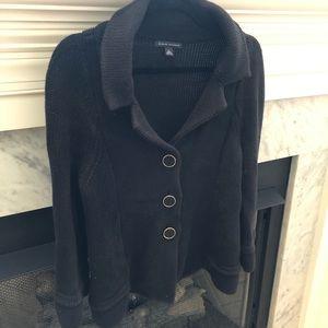 {Banana Republic} Thick Cotton Button Sweater
